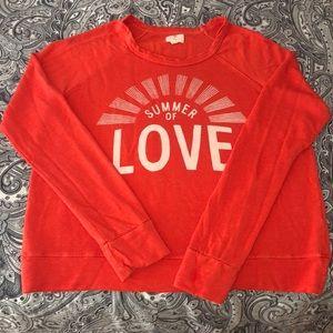 🌞SUNDRY Summer of Love Sweatshirt!! 🌞🌞